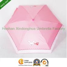 Super Mini parapluies Slim du cadeau cinq fois (FU-5619ZF)