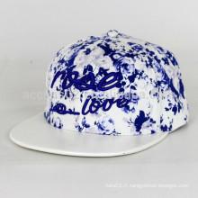 Snapback à capuchon simple, snapback en forme de chapeau