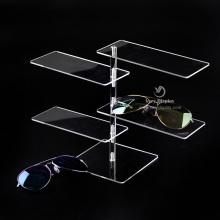 Estante de exhibición de mostrador de gafas de sol personalizado