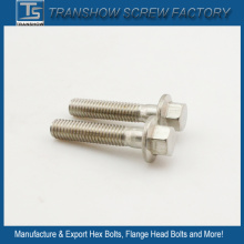 Nickle Plated Hex Flange Bolt
