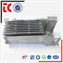 China OEM maßgeschneiderte Rechteck Aluminium Heizkörper Druckguss