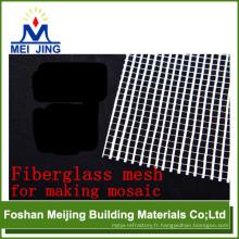 grille de mosaïque de fibre de verre de bonne qualité pour la fabrication de mosaïque de Meijing