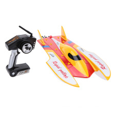 WL913 2.4G Remote Control Brushless Motor Water-Cooling System High Speed 50km/h RC Racing Boat