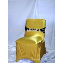 Charmant bronzante chaise couvrir