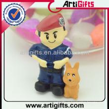 Dibujos animados 3d juguetes pequeños figurines de plástico
