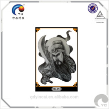 Tatuagem de adesivo de corpo de novidade de alta qualidade (série de cultura chinesa)