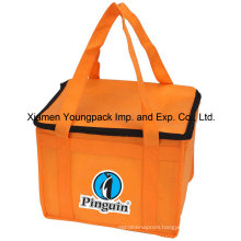 Promotional Custom Small Non-Woven Fabric Cloth Ice Bag for Cooler