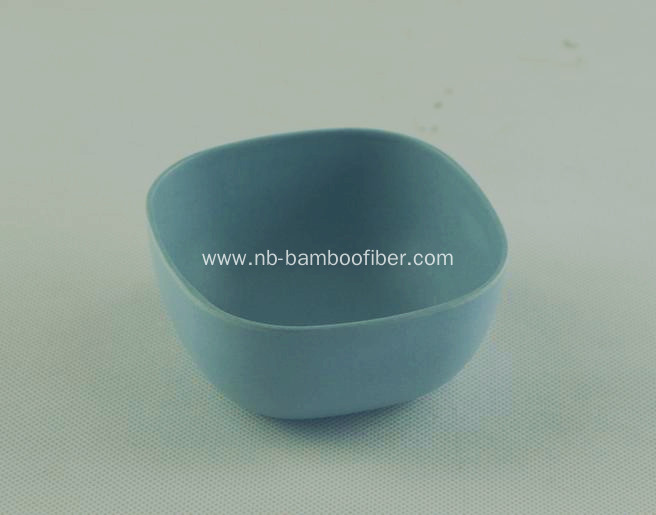 Quadrate little round edges saucer