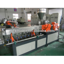Parallel twin screw plastic machinery for extruder