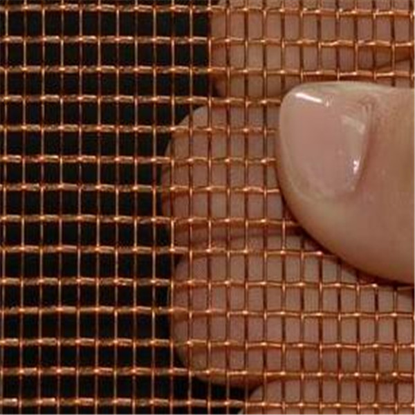 industrial filter red copper screen wire mesh