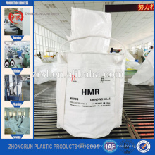 Bulk bag for PET RESIN,1000kg jumbo bag for plastic resins with coated fabric,bag with filling spout at top