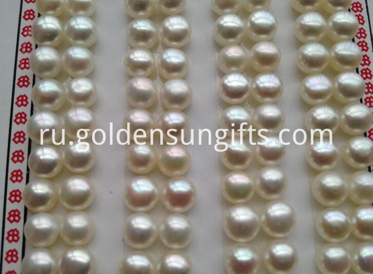 White Big Pearl Beads