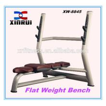 Flat weight lifting super Bench