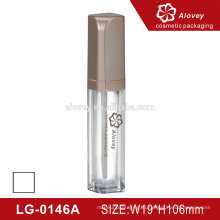 10ml cylindrical plastic empty lipgloss bottle