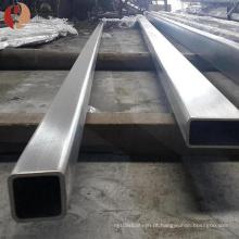 Gr2 10mm solda de titânio tubo retangular preço