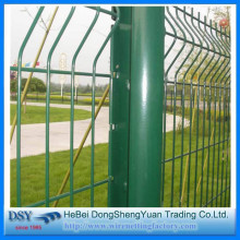 고품질 PVC 코팅 용접 철망 울타리
