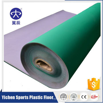 5mm Table Tennis PVC Vinyl Sport Court Flooring In Roll