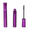 Elegant Crown Shaped Violet Mascara Tube Empty
