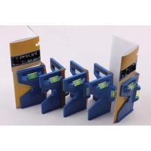 Синий почтовый уровень с тремя валами (7001009)