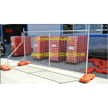 Австралия стандарту as 4687-2007 оцинкованной временный забор портативный удаление