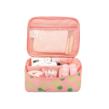 Latest design custom terylene cosmetic storage bag makeup bag toiletry bag with zipper