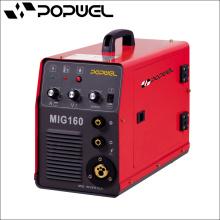 Máquina de soldadura portátil Popwel M1 160amp MIG MIG / CO2