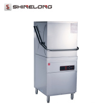 Hotel Hood Type Industrial Commercial Lavadora de louças, Máquina de lavar louça