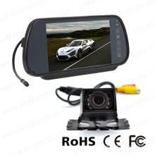 7inches LCD Digital-Schirm-Spiegel-Monitor mit Auto-Minikamera
