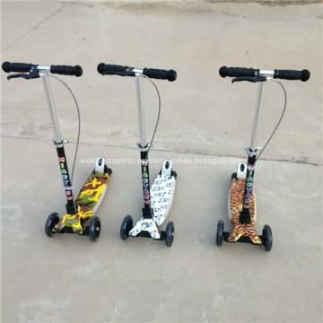 Niños Scooter Kick Scooter con luz