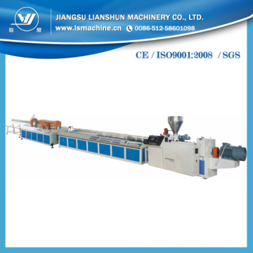 WPC PVC Plastic Profile Production Line