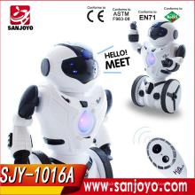 2016 buen precio Equilibrio Mini robot Control remoto Boxeo Drive Battery RC Robot Toy
