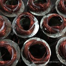 0.37-3kw condensateur résidentiel démarrant et exécutant le moteur électrique à CA asynchrone pour l'utilisation de machine de rizerie, usine directe, stock à bas prix