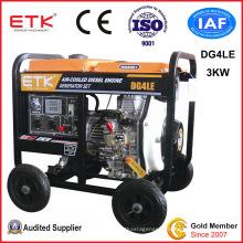 3kw Super Open Frame Type Diesel Generator