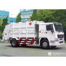 Sinotruk HOWO Rear Garbage Truck 2 Axle