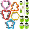 Sandwich Cutters Set ookie cutters pour enfants
