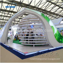 modern wood exhibition booths for rental, free expo booths system design