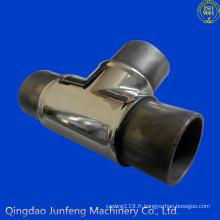 Raccord de tuyau en acier inoxydable personnalisé, noms de raccords de tuyauterie et pièces