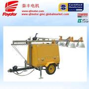 Mobile generator lighting tower