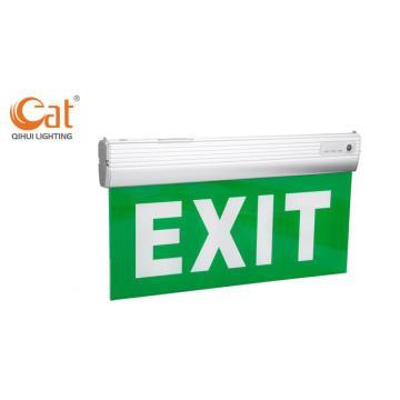 Señal de salida de emergencia mantenida por LED de batería de iones de litio de 3.6V