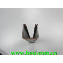 Machine de formage de rouleaux de canalisation Unistrut en acier inoxydable / pré-galvanisé / HDG