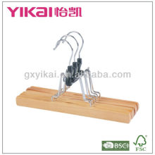 Hot selling wooden trousers hanger