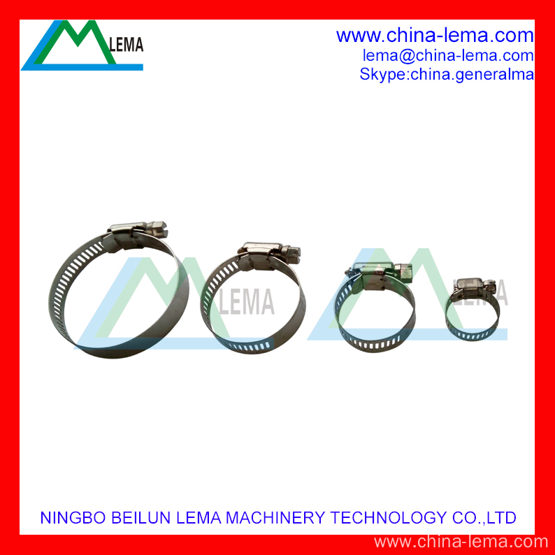 High Performance Stainless steel hose clamp