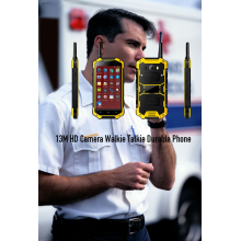 Caméra 13M HD Walkie Talkie Durable Phone