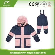 Good Quality Kids PU Rainsuit