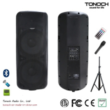 Hot Sale Dual 15 polegadas PA Speaker plástico para o modelo Thz215ub