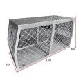 Boîte de cage de chien en métal robuste personnalisée