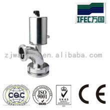 Stainless Steel Pneumatic Seat Valve for Tank Bottom