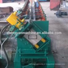 Máquina de moldagem de rolo frio Purlin de seção C