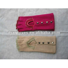 fashion fingerless cashmere gloves