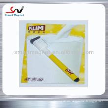 Imán promocional magnético del refrigerador del papel